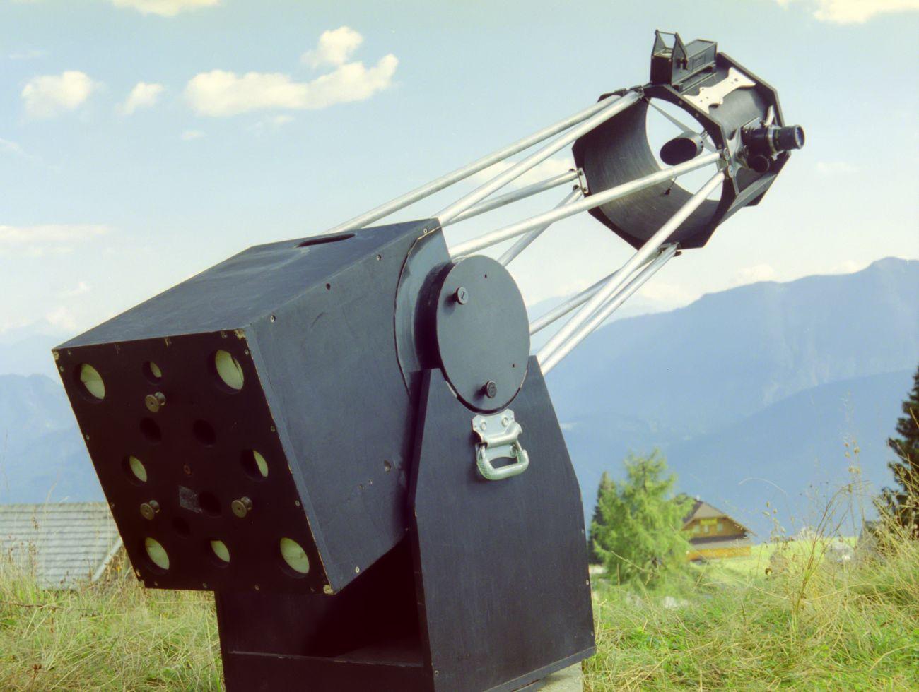 Anschliessen einer vollformat dslr an einem teleskop